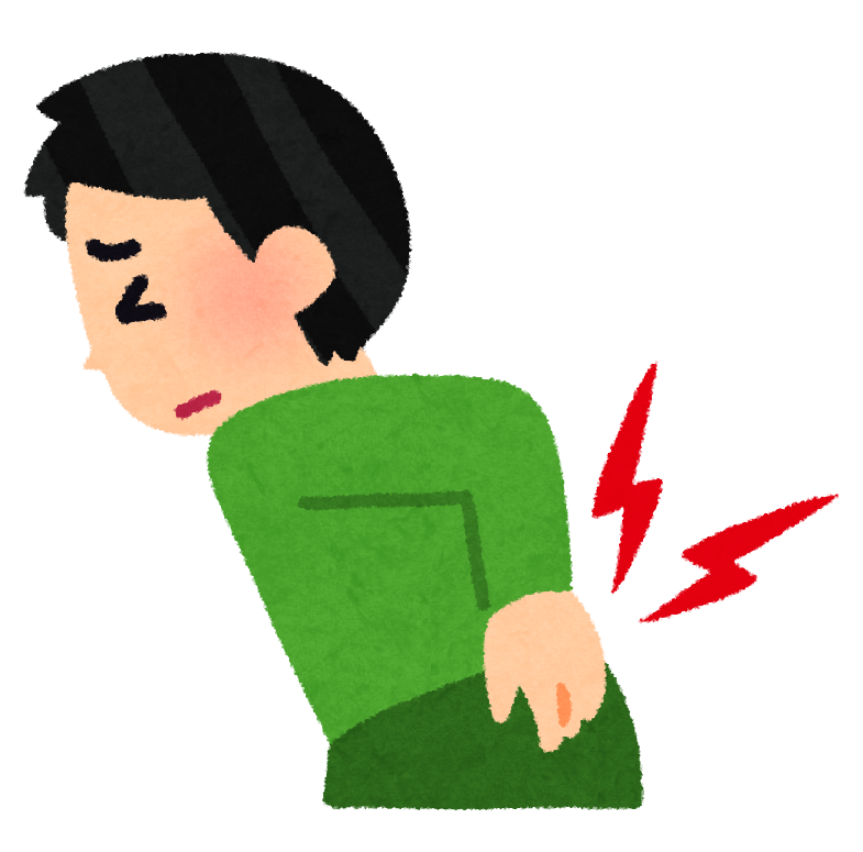 風邪 腰 が 痛い